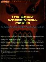 1st Wreck N Roll Cirkus Flyer
