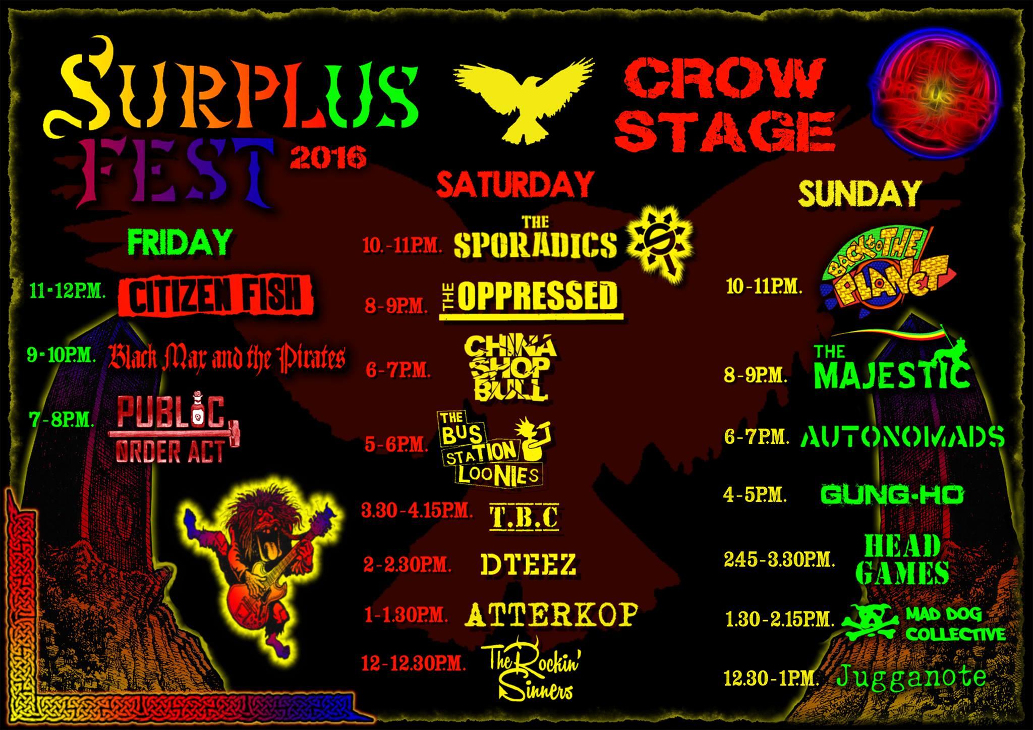 Permalink to: Surplus Festival 2016